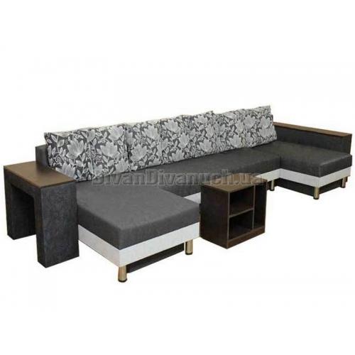Угловой диван Сафари-Бис фабрика Катунь