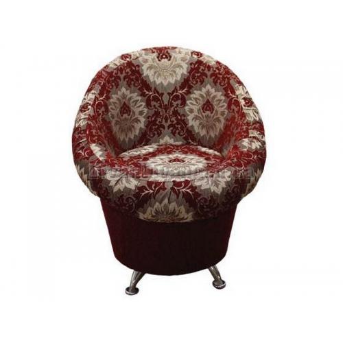 Кресло Тюльпан на хромированных ножках