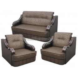 Комплекты с прямыми диванами