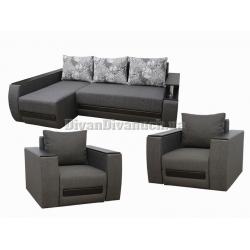 Комплекты с угловыми диванами
