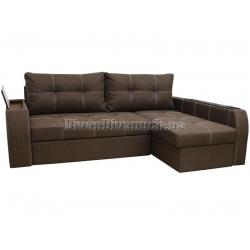 """Угловой диван Диего коричневый """"Г"""" + в подарок Сертификат на 450грн"""