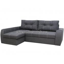 """Угловой диван Диего тёмно серый """"7"""" + в подарок Сертификат на 450грн"""