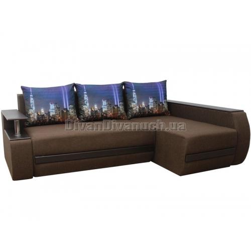 """Угловой диван Брайтон ткань 3-26 """"Г"""" + в подарок Сертификат на 450грн"""
