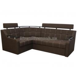 """Угловой диван Версаль 3 коричневый """"7"""" + в подарок Сертификат на 350грн"""