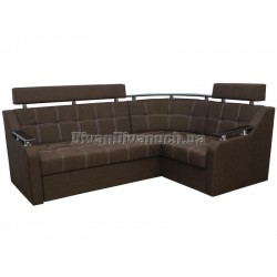 """Угловой диван Версаль 3 коричневый """"Г"""" + в подарок Сертификат на 350грн"""