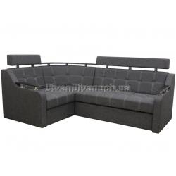 """Угловой диван Версаль 3 тёмно серый """"7"""" + в подарок Сертификат на 350грн"""