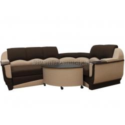"""Угловой диван Декор ткань 3-36 """"Г"""" + в подарок Сертификат на 450грн"""
