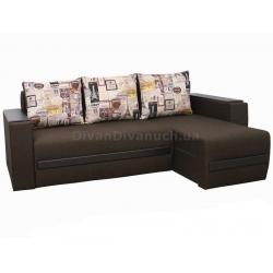 """Угловой диван Брайтон 2 ткань 5 """"Г"""" + в подарок Сертификат на 350грн"""