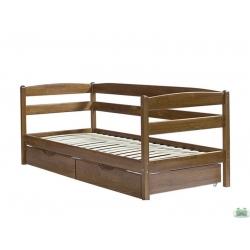 Кровать 90х200 с выдвижными ящиками
